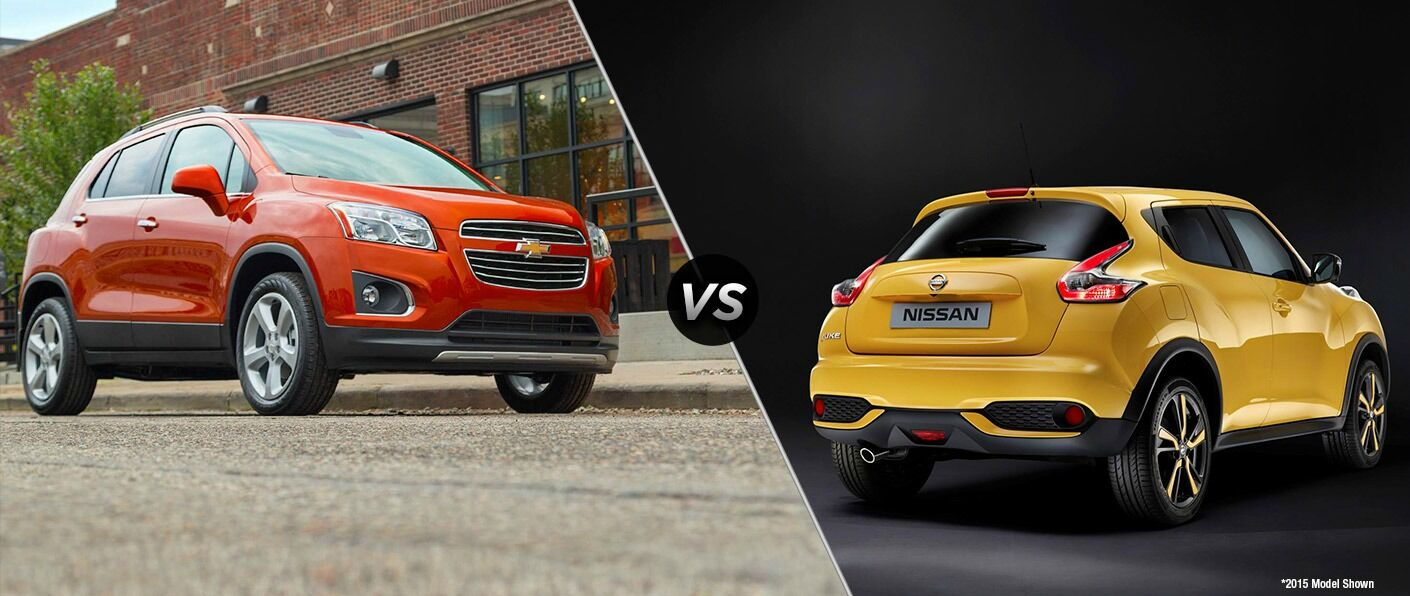 2016 Chevy Trax vs 2016 Nissan Juke Scottsboro AL