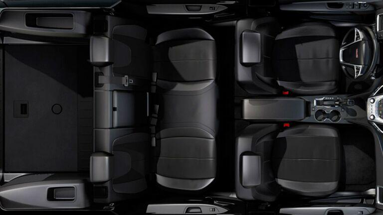 Honda Pilot Cargo Space >> 2015 GMC Terrain vs 2015 Honda Pilot