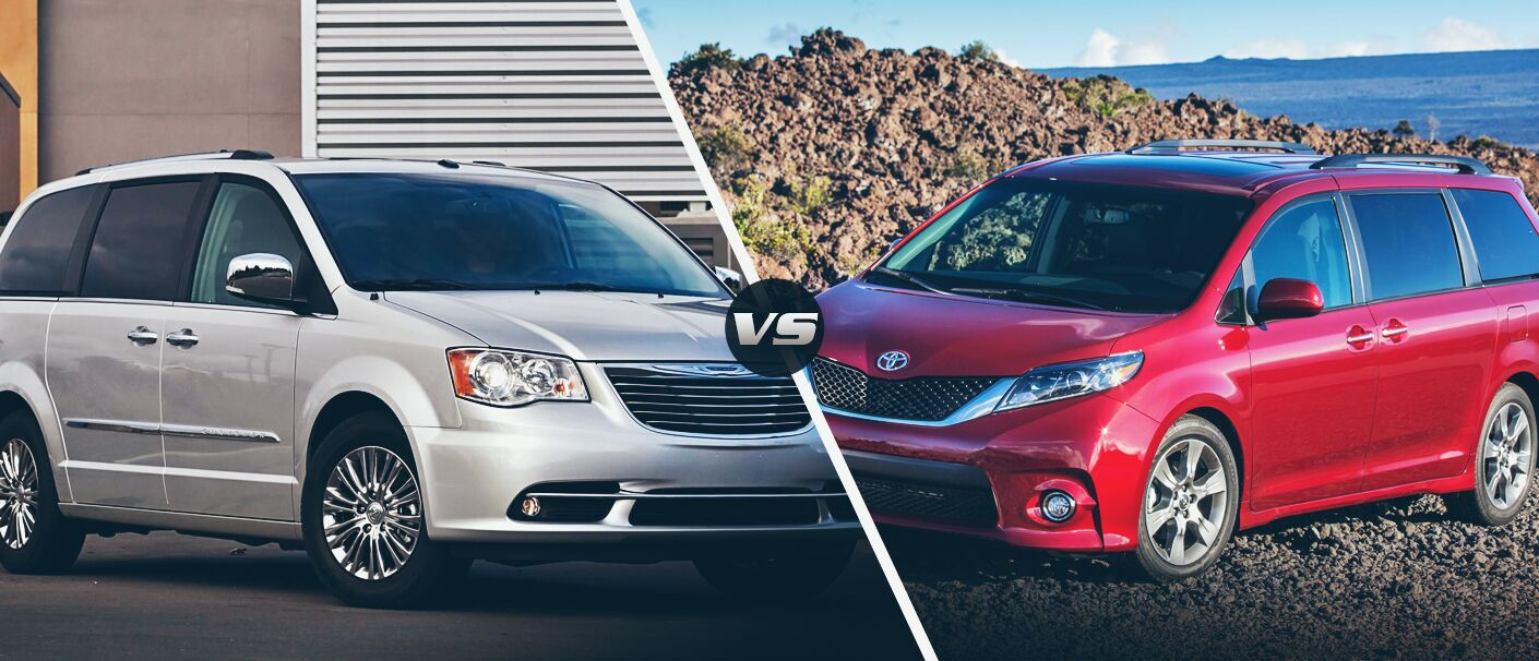 2015 chrysler town and country vs 2015 toyota sienna. Black Bedroom Furniture Sets. Home Design Ideas