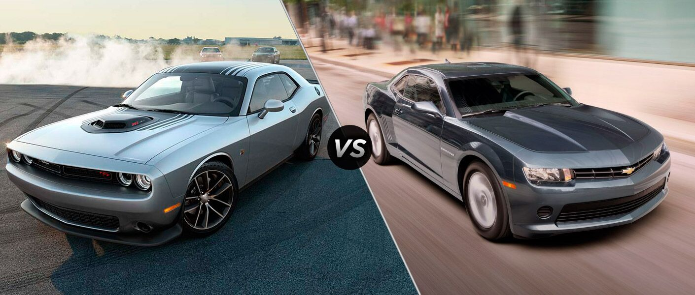 Worksheet. Dodge Challenger vs 2015 Chevrolet Camaro