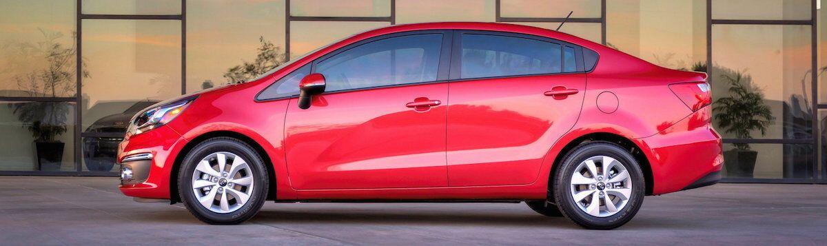 2016 Kia Rio - Red