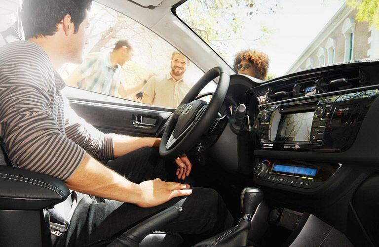 2016 Toyota Corolla interior Toyota Palo Alto San Jose CA