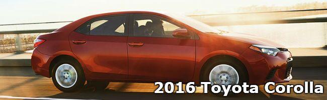 2016 Toyota Corolla model information Toyota Palo Alto CA