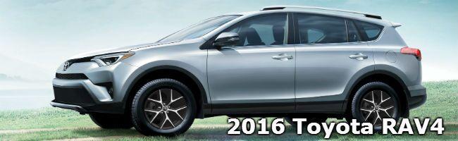 2016 Toyota RAV4 model information Toyota Palo Alto CA