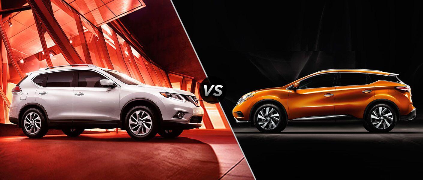 2015 Nissan Rogue vs 2015 Nissan Murano