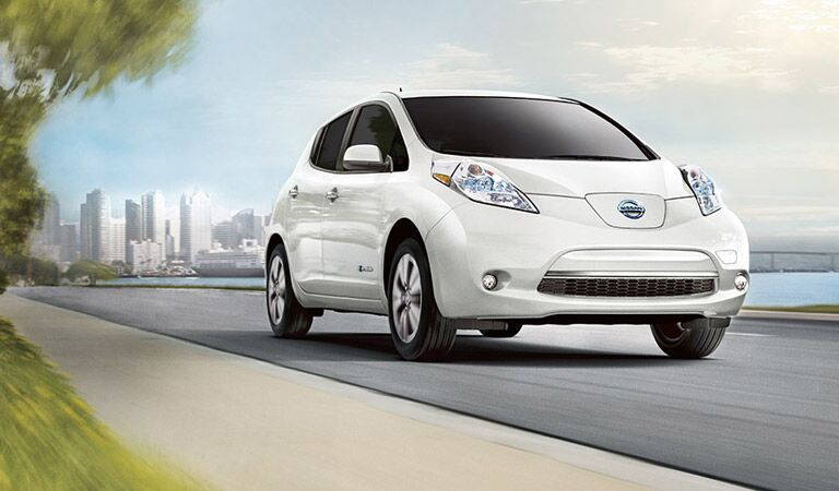 Nissan LEAF electric car Vacaville Nissan Davis CA