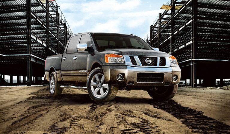 Titan truck Vacaville Nissan Davis CA
