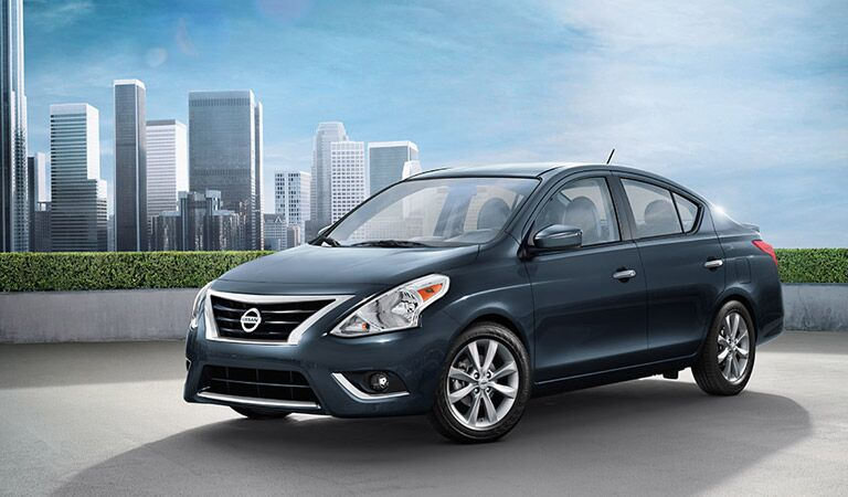 Nissan Versa subcompact Vacaville Nissan Davis CA