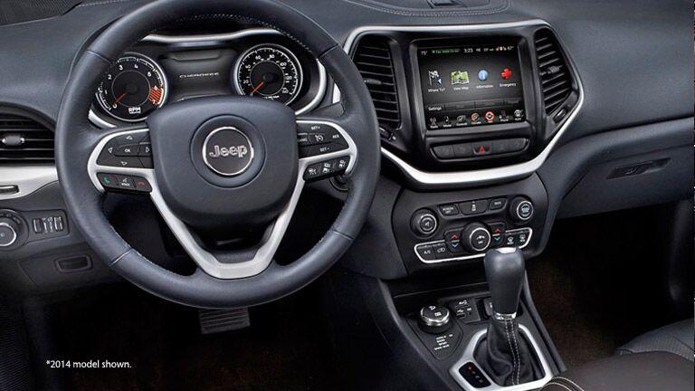 Lovely 2015 Jeep Cherokee Interior Technology Safety Luxury Great Ideas