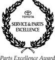 Parts Excellence Award