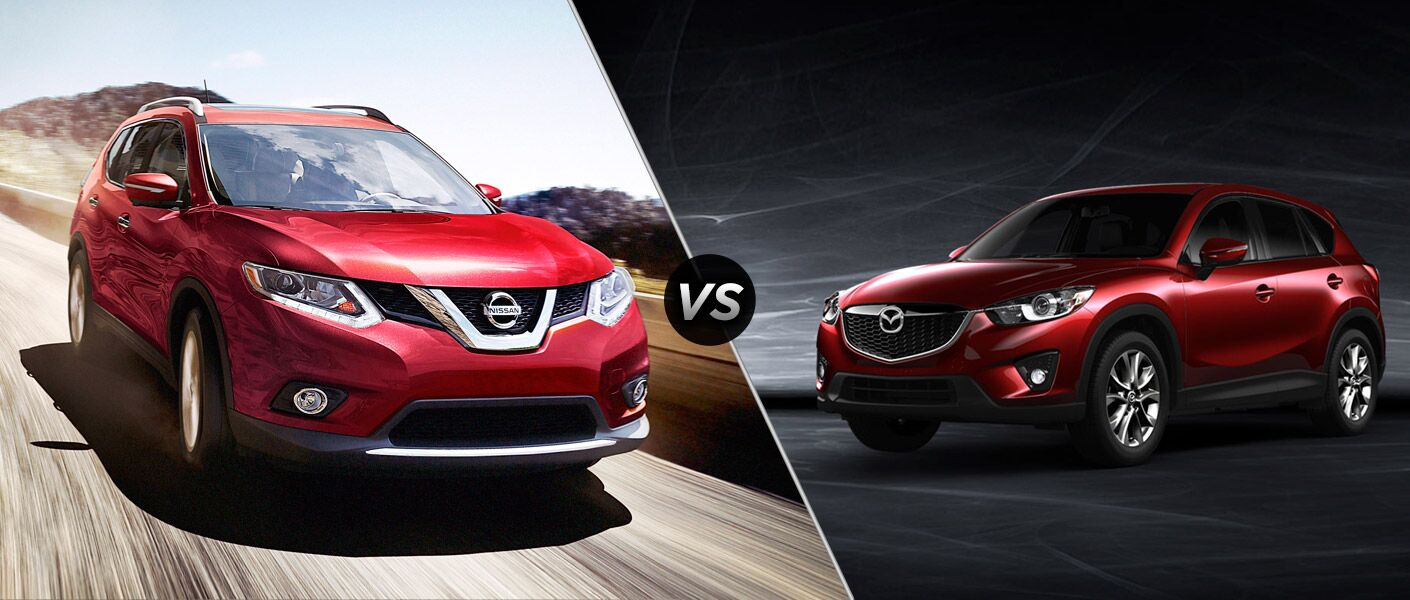 2015 Nissan Rogue Vs 2015 Mazda Cx 5