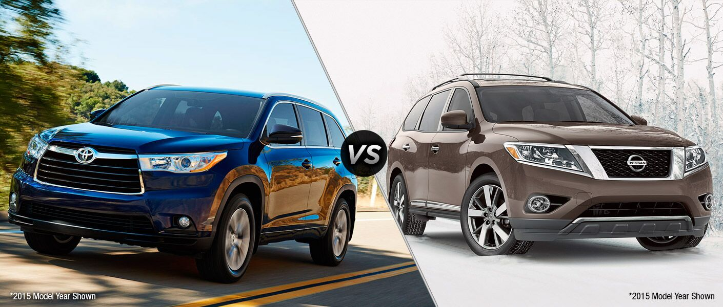 Toyota Dealership Chicago >> 2016 Toyota Highlander vs 2016 Nissan Pathfinder