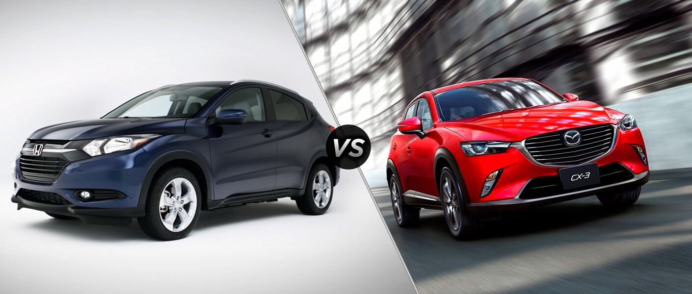 2016 Honda Hr V Vs 2016 Mazda Cx 3