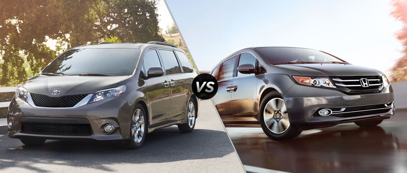 2015 toyota sienna vs 2015 honda odyssey. Black Bedroom Furniture Sets. Home Design Ideas