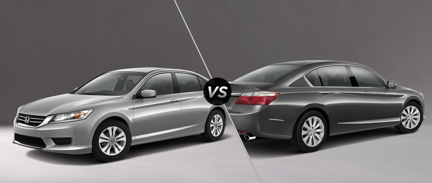 Honda Accord Lx Vs Honda Accord Ex