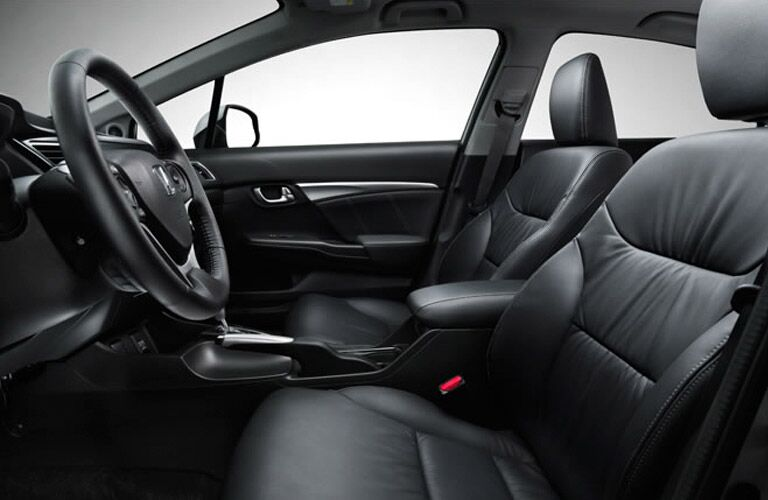Honda Civic Interior Black Leather
