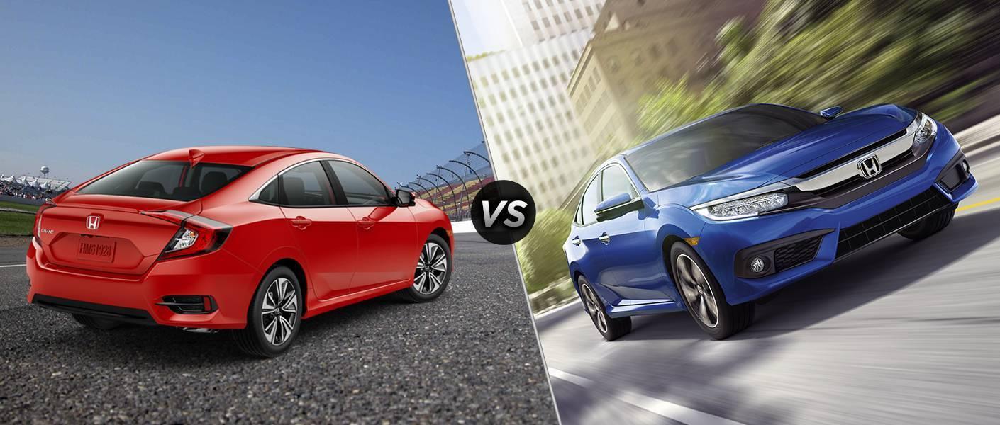 Honda Civic EXL vs Touring