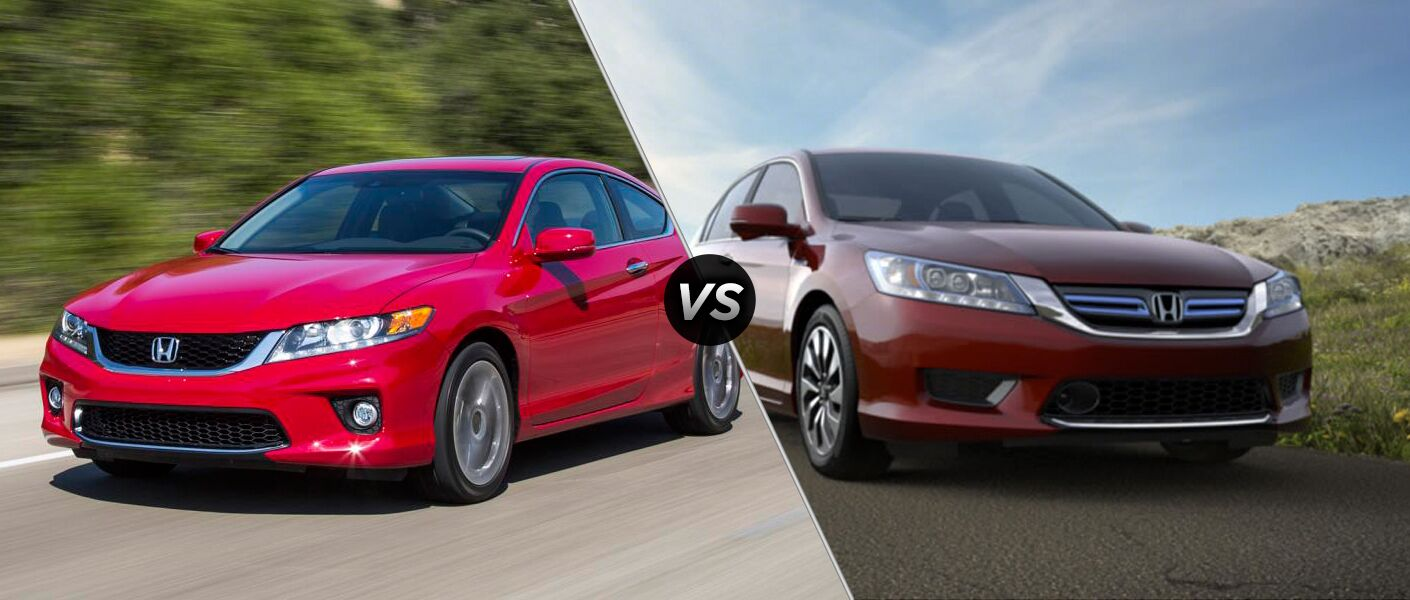 2014 Honda Accord vs. 2014 Honda Accord Hybrid
