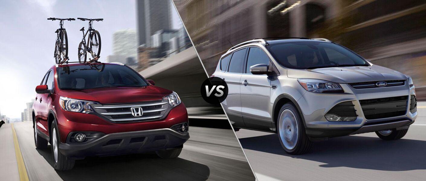 2014 Honda CR-V vs. 2014 Ford Escape
