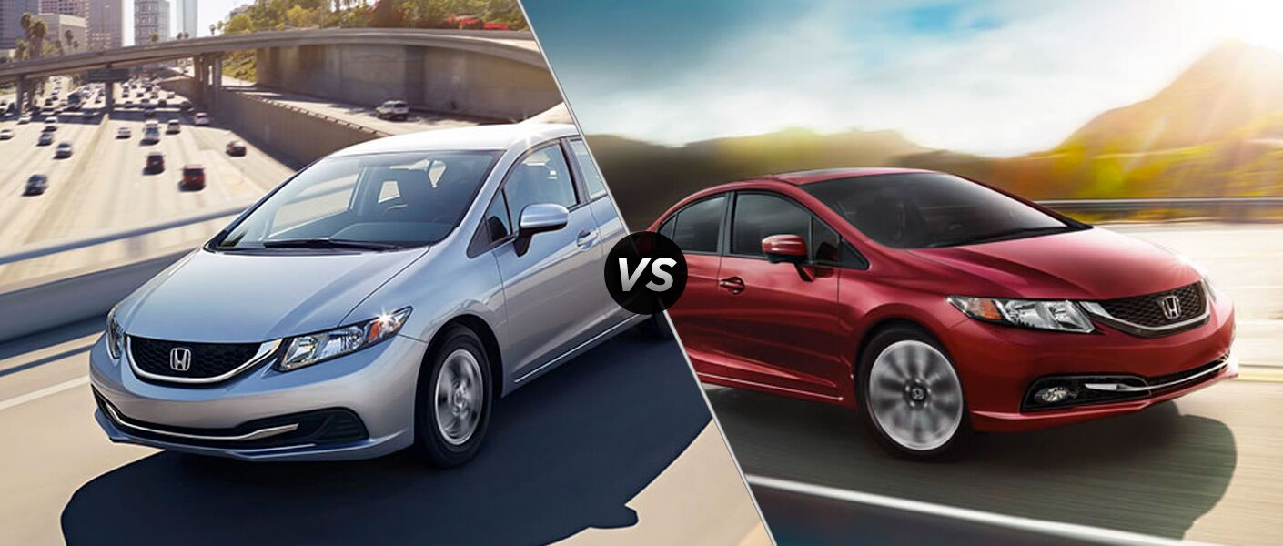 The difference between the 2015 Honda Civic EX-L vs 2015 Honda Civic EX lies in the details.