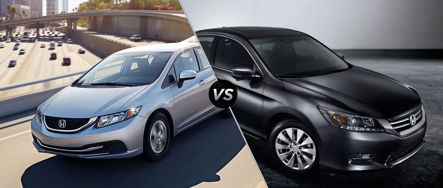 2015 honda civic vs 2015 honda accord for Honda accord vs honda civic