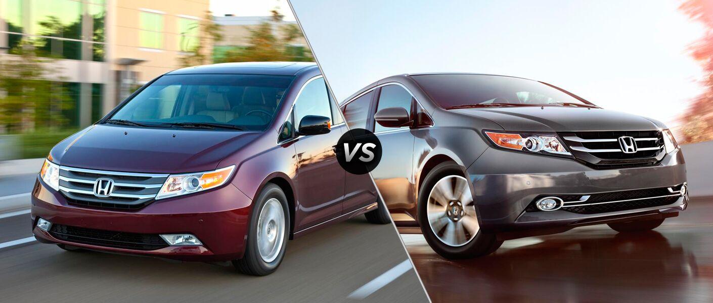 Honda Odyssey Touring vs. Touring Elite