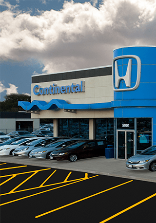 Chicago illinois honda dealership continental honda for Honda dealers in chicago
