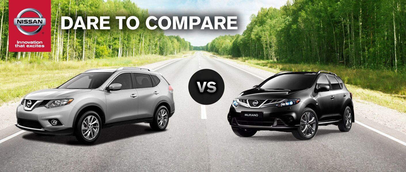 2014 nissan murano vs 2014 nissan rogue. Black Bedroom Furniture Sets. Home Design Ideas