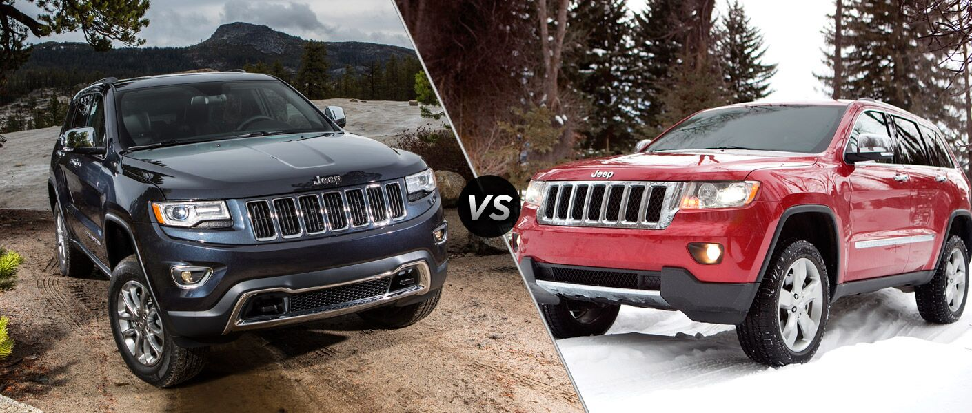 2014 jeep grand cherokee vs 2013 jeep grand cherokee. Black Bedroom Furniture Sets. Home Design Ideas