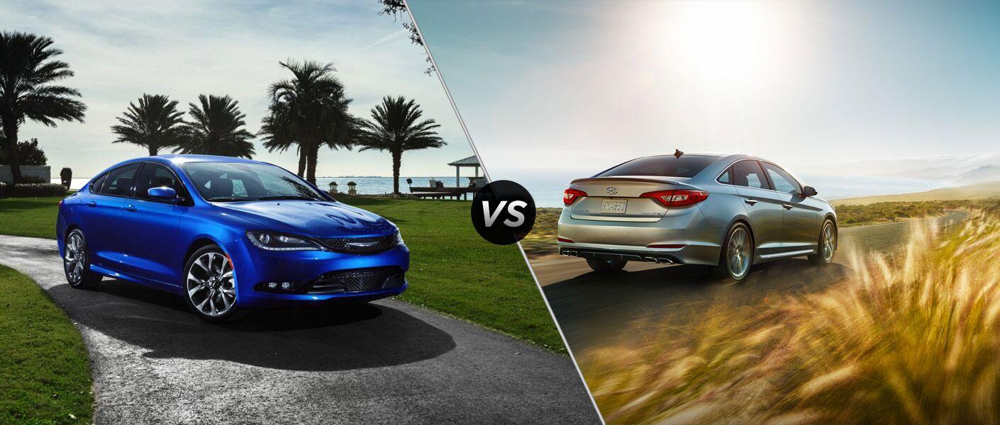 2015 Chrysler 200 vs 2015 Hyundai Sonata