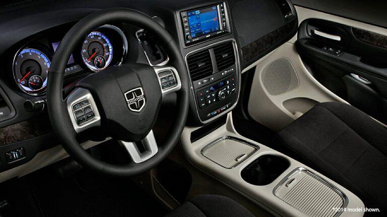 2016 Dodge Grand Caravan Center Console