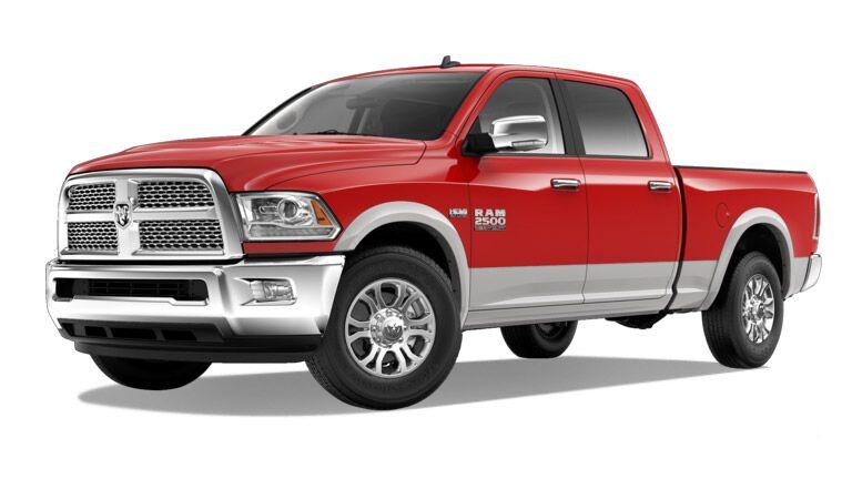 2016 RAM 2500 Red Exterior