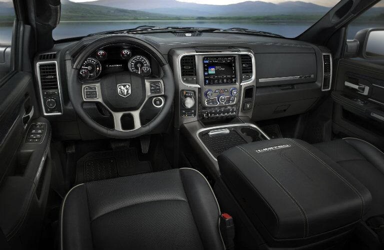 2015 RAM 1500 Leather Interior