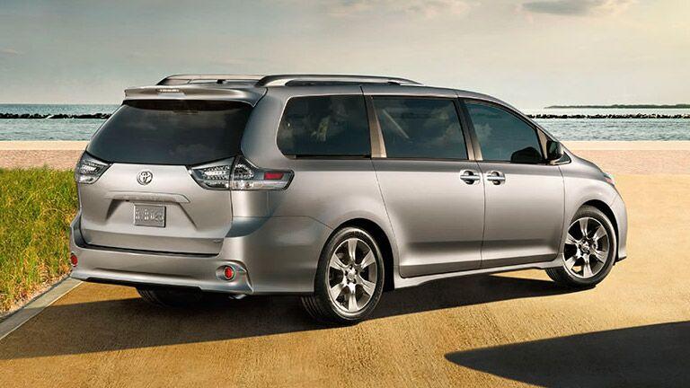 Rear End 2016 Toyota Tundra Silver