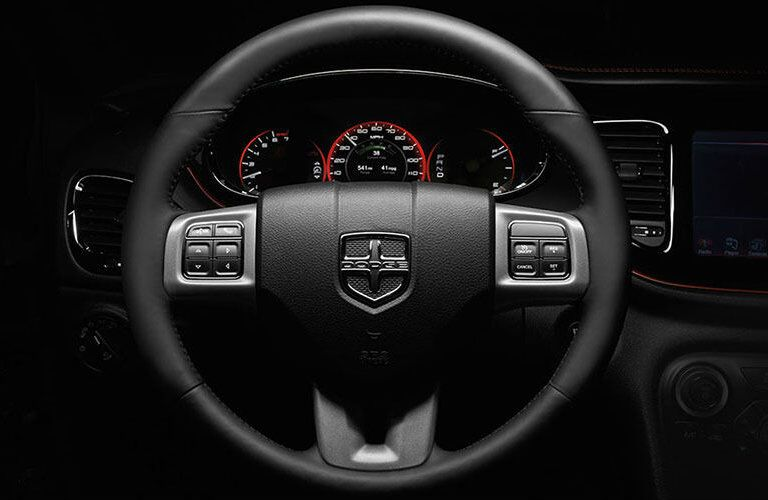 2015 Dodge Dart interior steering wheel