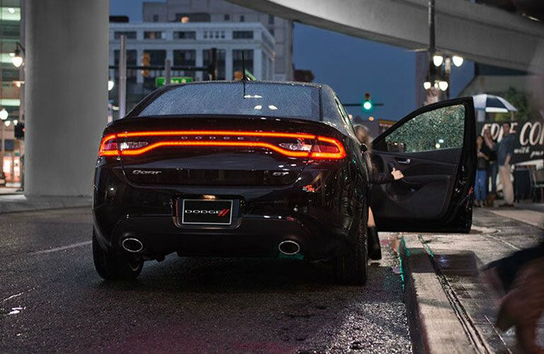 2015 Dodge Dart exterior rear