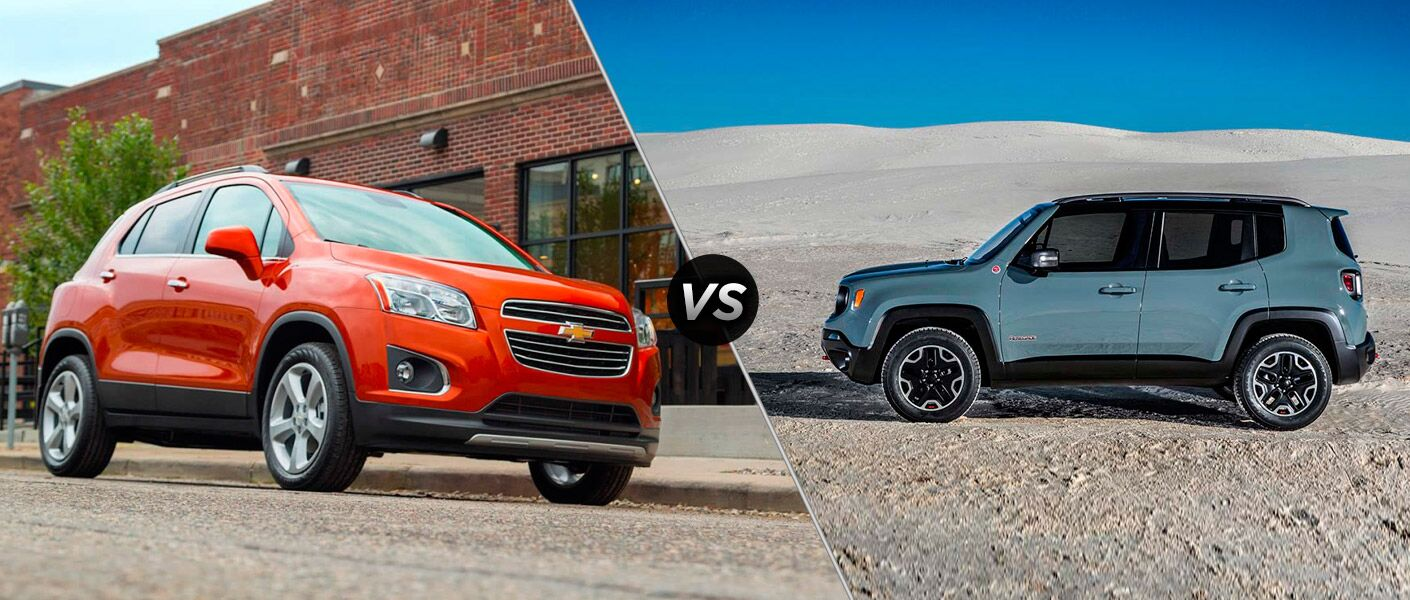 2015 Jeep Renegade vs 2015 Chevy Trax