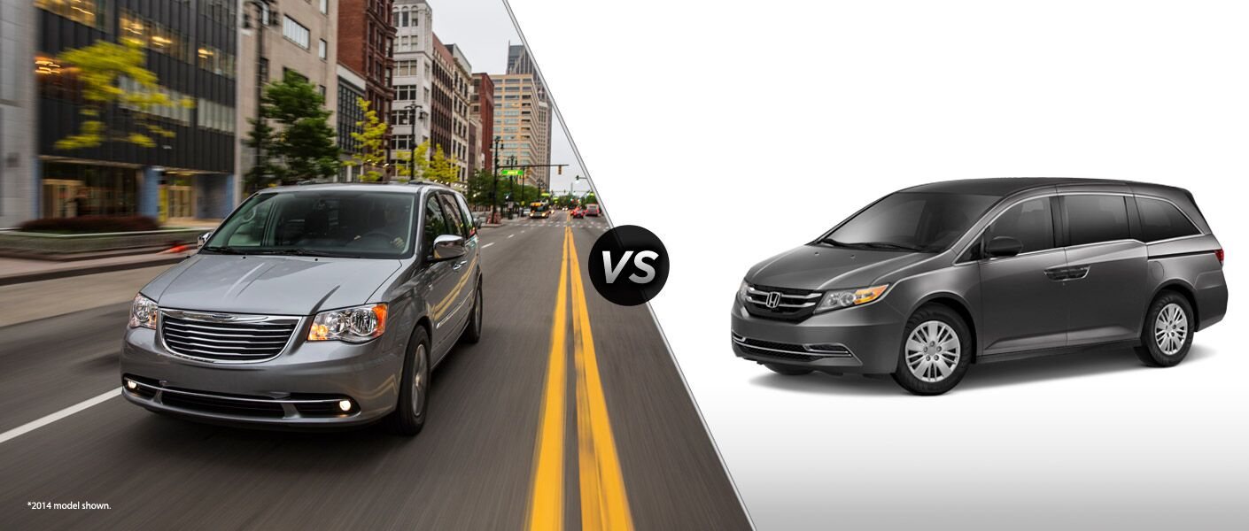 2015 Chrysler Town and Country vs 2015 Honda Odyssey