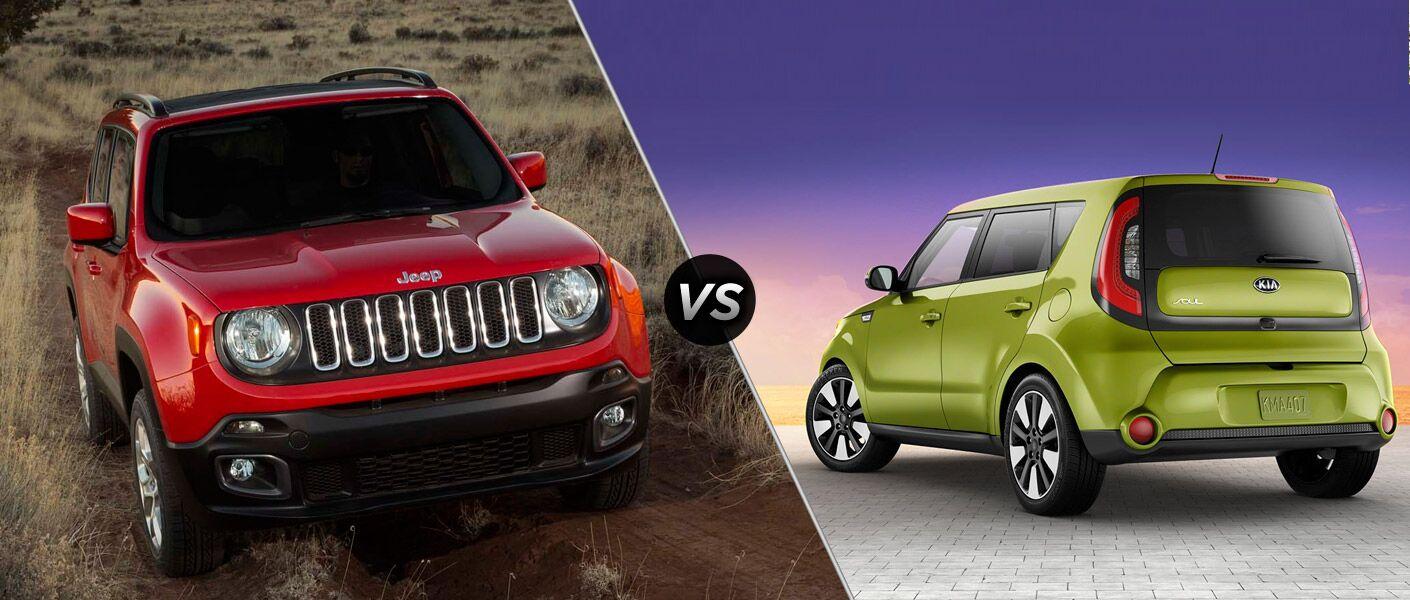 2015 Jeep Renegade vs 2015 Kia Soul