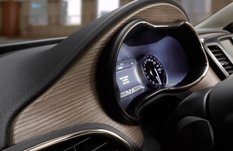 2016 Chrysler Purple Dashboard