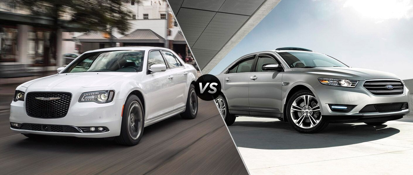 2016 Chrysler 300 vs 2016 Ford Taurus