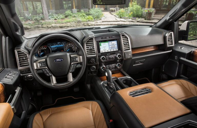 Interior 2016 Ford F-150