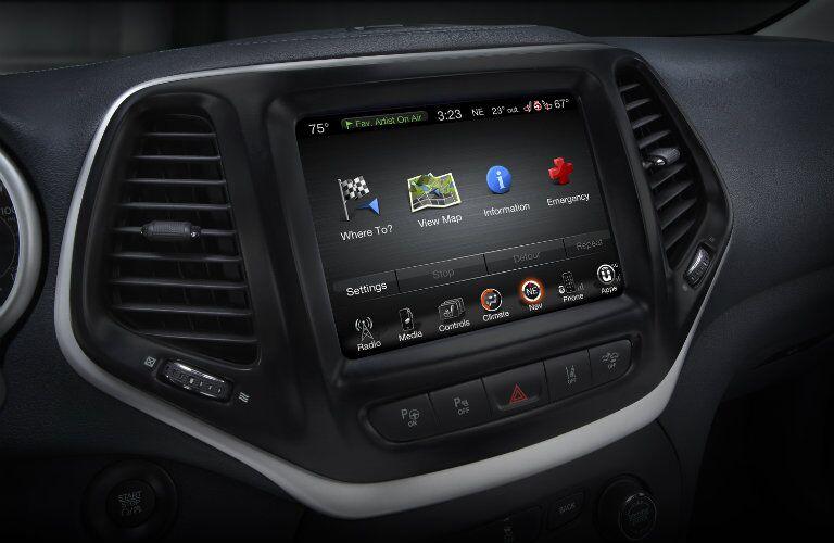 LCD Screen 2016 Jeep Cherokee