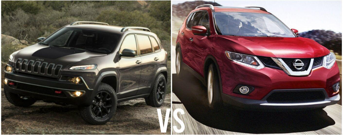 2016 Jeep Cherokee vs 2016 Nissan Rogue