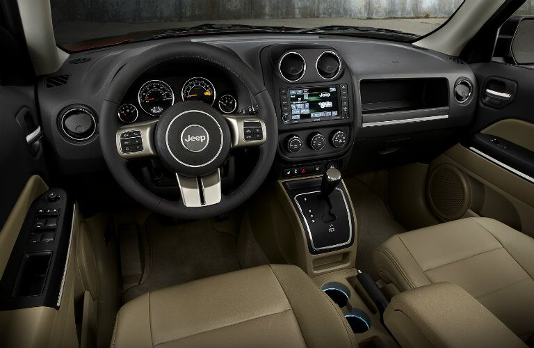 2016 Jeep Patriot Interior Dashboard