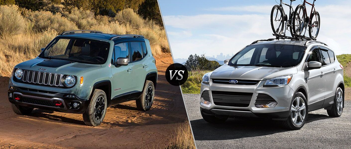 2016 Jeep Renegade vs 2016 Ford Escape