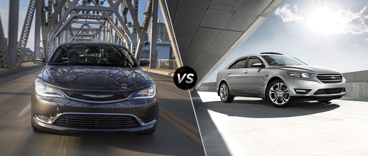 2016 Chrysler 200 vs 2016 Ford Taurus