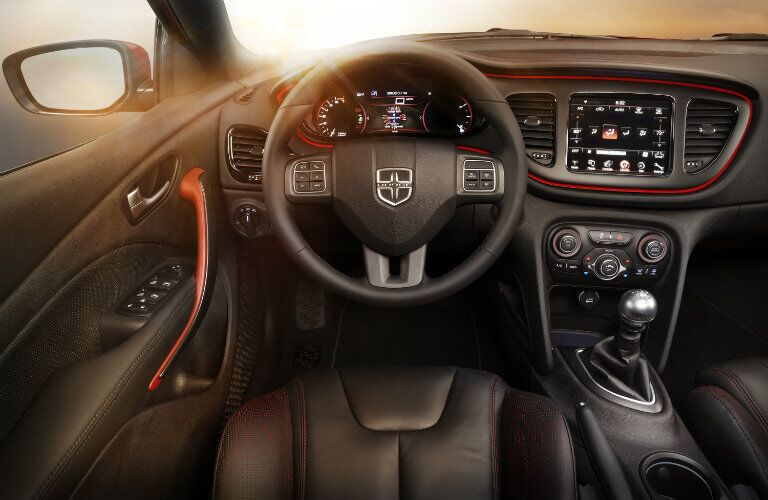 Interior 2016 Dodge Dart