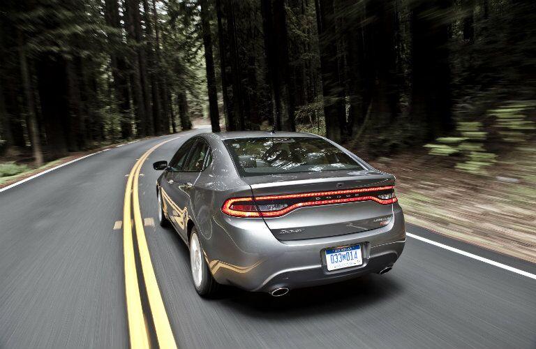 Rear tail lights 2016 Dodge Dart