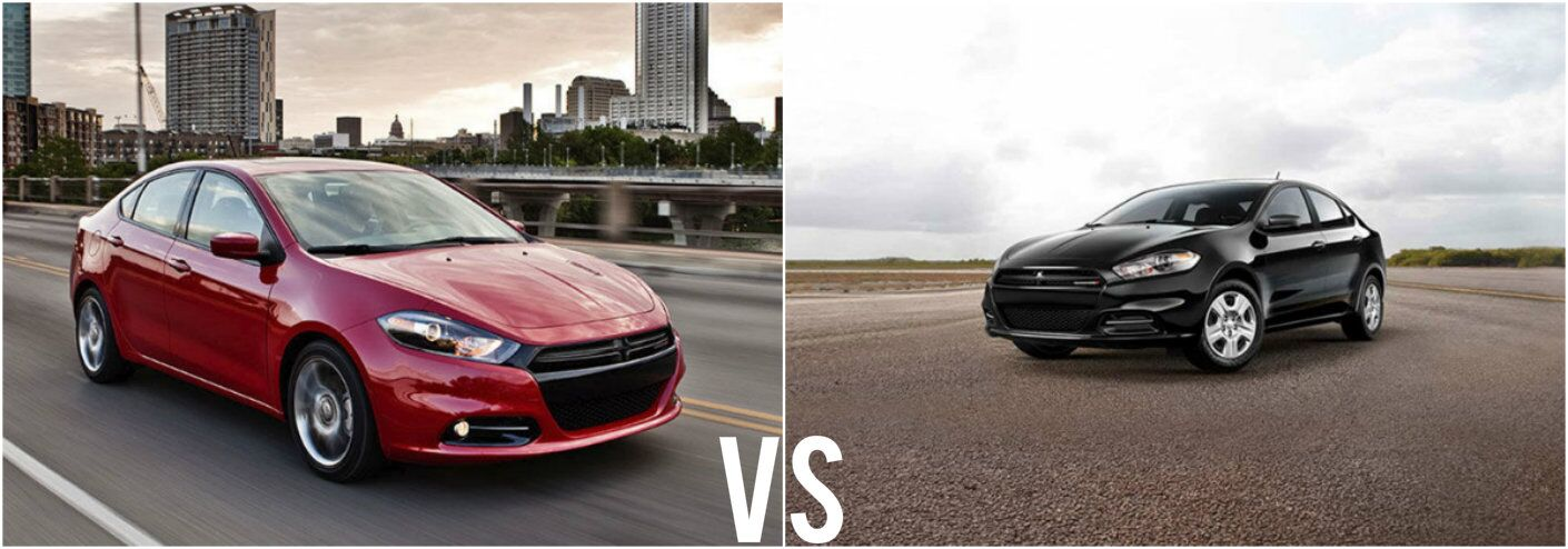 2015 Dodge Dart SXT vs 2015 Dodge Dart SE